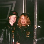 Jeff with Vince Neil