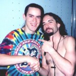 Jon with Nick Menza from Megadeth