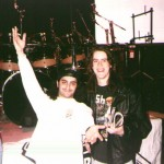 Jon with Mike Portnoy from Dream Theater, Winery Dogs, Transatlantic, Neal Morse